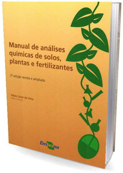 Livro Manual de Análises Químicas de Solos, Plantas e Fertilizantes