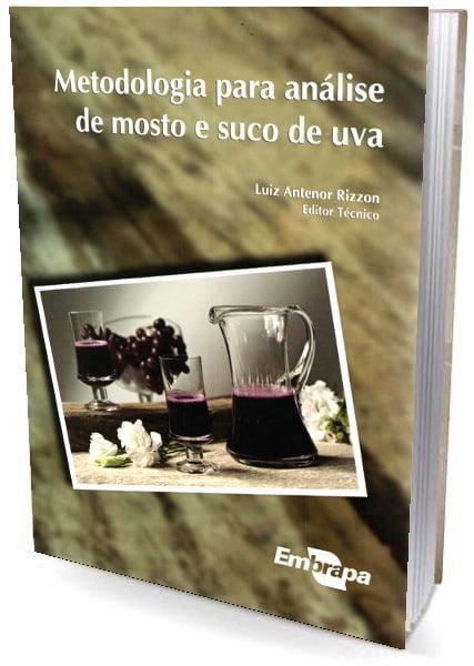 Livro Metodologia para Analise de Mosto e Suco de Uva