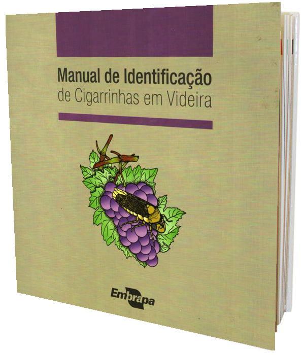 Livro Manual de Identificação de Cigarrinhas em Videira