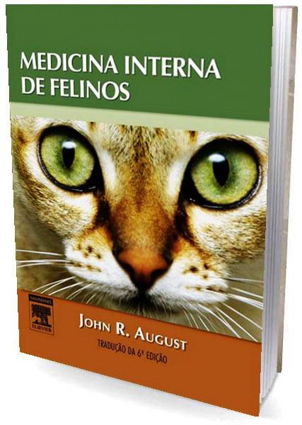 Livro Medicina Interna de Felinos