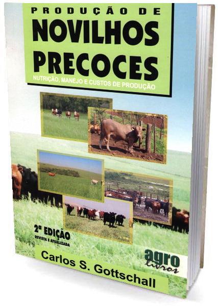 Livro - Produção de Novilhos Precoces: Nutrição, manejo e custos de produção