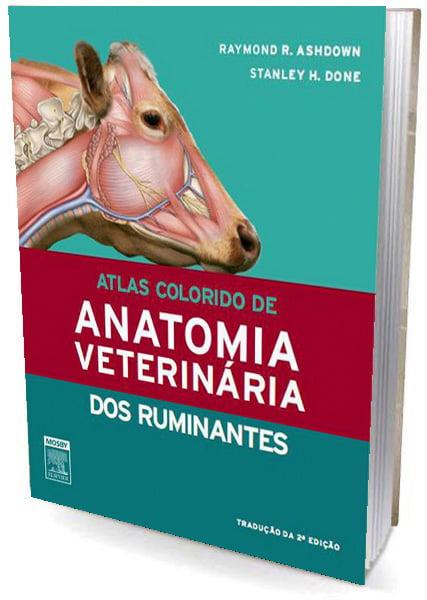 Livro Atlas Colorido de Anatomia Veterinária  dos Ruminantes