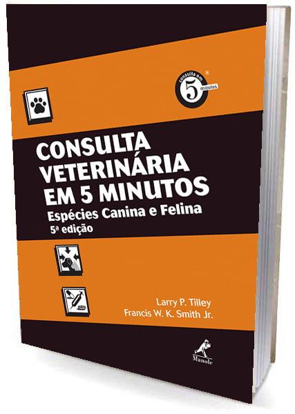 livro-Consulta Veterinária em 5 Minutos: Espécies Canina e Felina