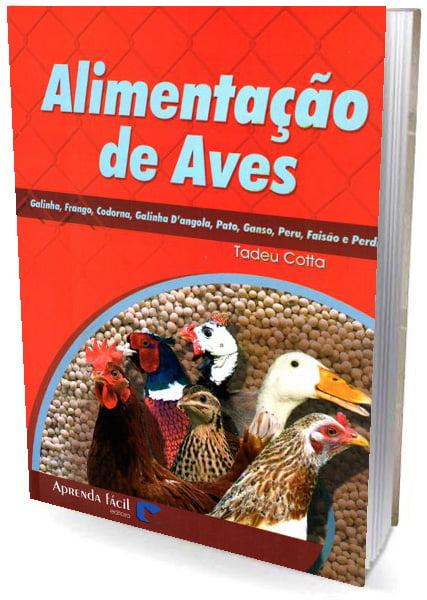 Livro Alimentação de Aves