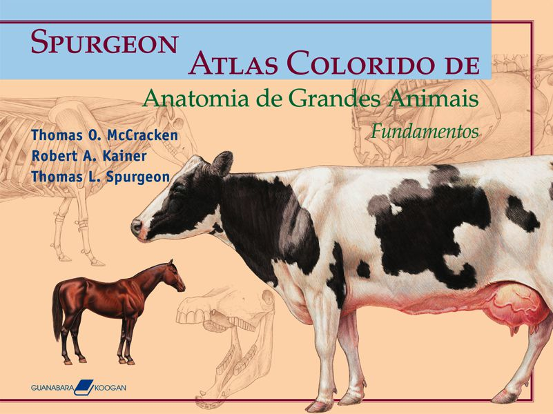 Livro Atlas Colorido de Anatomia de Grandes Animais - Fundamentos