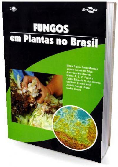 Livro Fungos em Plantas no Brasil