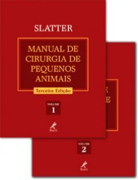 Livro Manual de Cirurgia de Pequenos Animais (2 volumes) ? 3ª edição