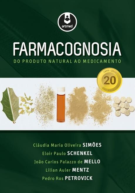 Livro - Farmacognosia - do produto natural ao medicamento