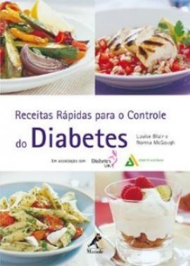 Livro Receitas Rápidas para o Controle do Diabetes