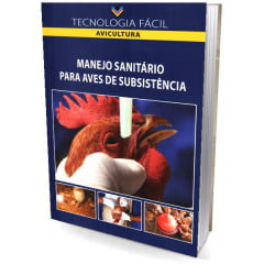 Livro - Manejo Sanitário para Aves de Subsistência