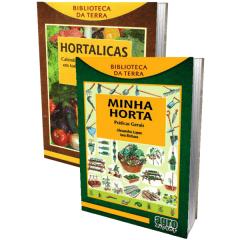 Livros - Hortaliças + Minha Horta