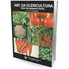 Livro - ABC da Olericultura - Guia da Pequena Horta