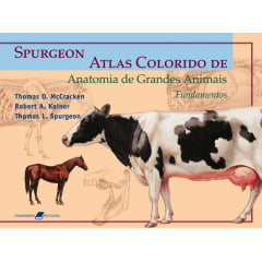 Livro - Atlas Colorido de Anatomia de Grandes Animais - Fundamentos