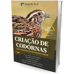 Livro - Criação de Codornas para Produção de Ovos e Carnes