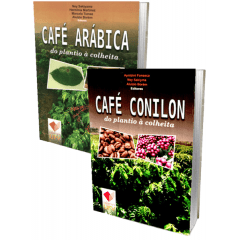Kit - Café Conilon e Café Arábica - do plantio à colheita