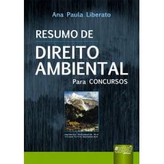 Livro - Resumo de Direito Ambiental para Concursos
