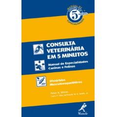 Livro Manual de Consulta Veterinária em 5 Minutos: Espécies Canina e Felina