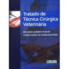 Livro Tratado de Técnica Cirúrgica Veterinária