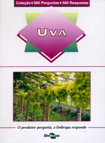 Livro Uva - 500 perguntas / 500 respostas
